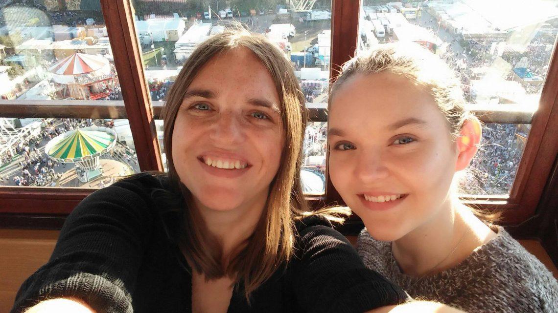 Oktoberfest mit Tochter
